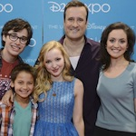 Flashback Friday: Cast of Liv and Maddie at D23